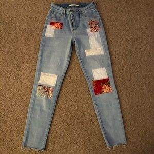 One of a Kind Levi's Skinny Jeans